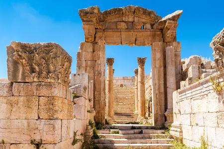 Photo for Ruins of Gerasa, modern Jerash, Jordan - Royalty Free Image