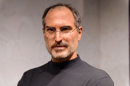 Photo for BEIJING, CHINA - APR 6, 2016: Steve Jobs at Beijing Madame Tussauds wax museum. Marie Tussaud was born as Marie Grosholtz in 1761 - Royalty Free Image