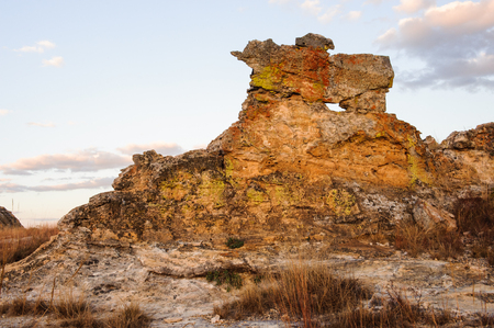 Foto de Madagascar rock in front of the sky in Madagascar - Imagen libre de derechos