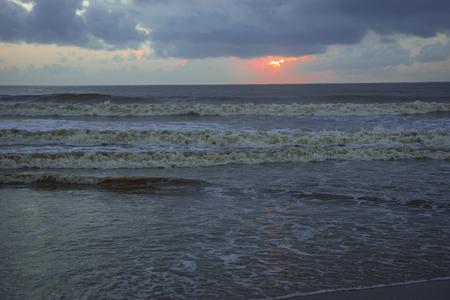 Photo for Colorfull dawn at Indian Ocean in Angels Bay, Kenya - Royalty Free Image