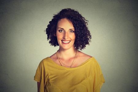 Photo pour Happy smiling woman - image libre de droit