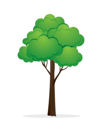 Ilustración de tree vector illustration. - Imagen libre de derechos