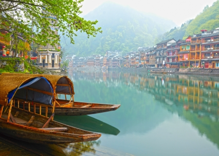 Photo for Old Chinese traditional town - Royalty Free Image