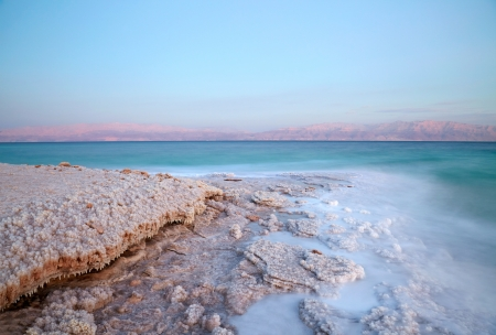 Dead Sea coastline