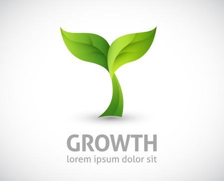 Illustration pour growing plant illustration - image libre de droit