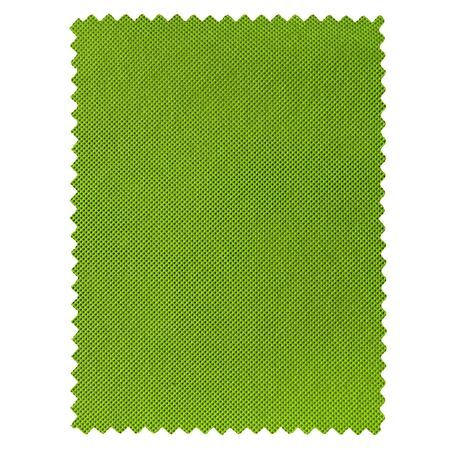 Fabric sample isolated over a white background