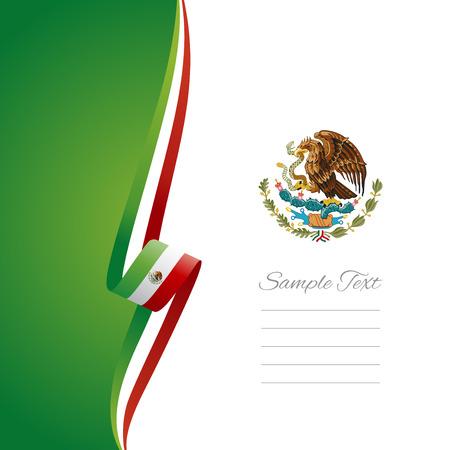 Foto de Mexican left side brochure cover vector - Imagen libre de derechos