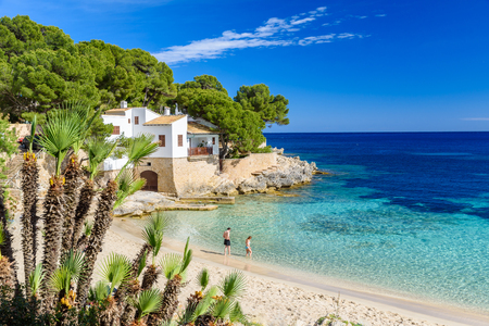 Photo for Cala Gat at Ratjada, Mallorca - beautiful beach and coast - Royalty Free Image