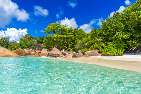 Photo for Anse Lazio - Paradise beach in Seychelles, island Praslin - Royalty Free Image