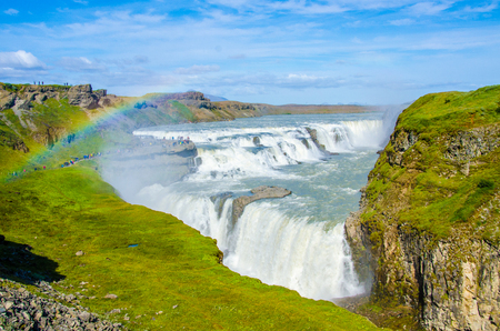 Photo for Gullfoss - Waterfall Iceland - Royalty Free Image