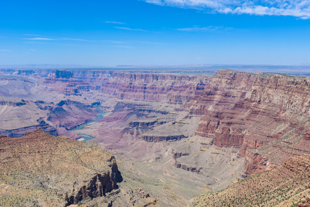 Photo pour Navajo View Point at Grand Canyon National Park, Arizona, USA - image libre de droit