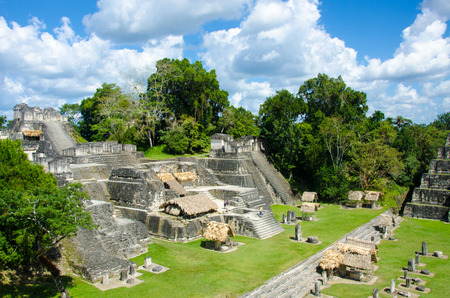 Photo for Tikal - Maya Ruins in the rainforest of Guatemala - Royalty Free Image