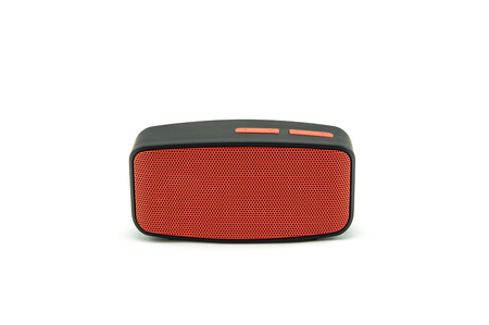 Photo for Bluetooth Speaker on white background. - Royalty Free Image