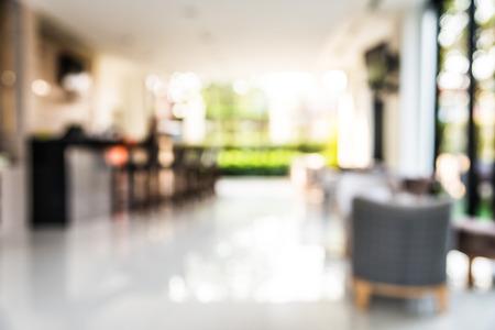 Foto de Abstract hotel lobby blur background - Imagen libre de derechos