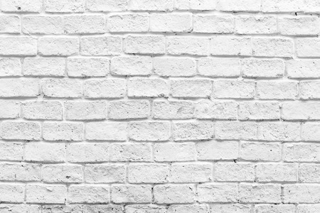 Foto de White brick wall textures background - Imagen libre de derechos
