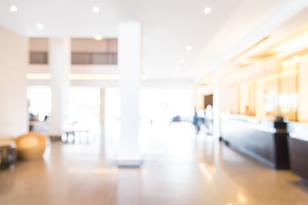 Foto de Abstract blur hotel lobby background - Imagen libre de derechos