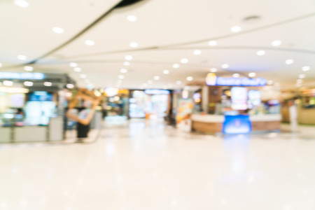 Photo for Abstract blur shopping mall interior background - Royalty Free Image