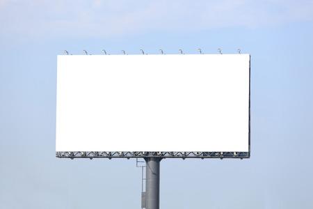 Foto de Blank billboard ready for new advertisement - Imagen libre de derechos