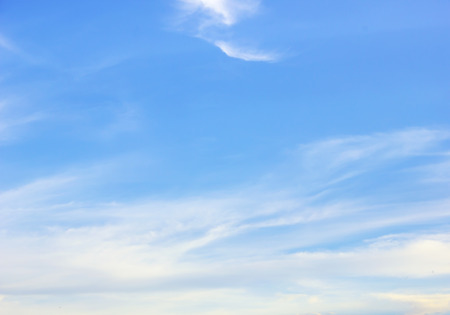 Photo pour clouds in the blue sky background - image libre de droit