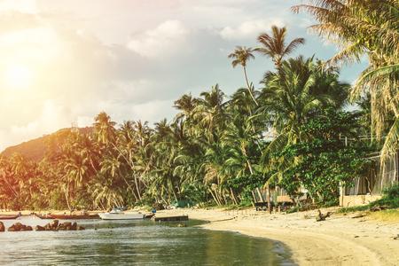 Photo for Beautiful beach at koh phangan (Thailand). - Royalty Free Image