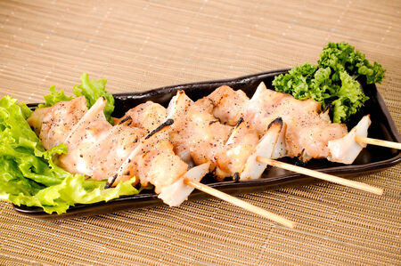 Japanese food , yakitori
