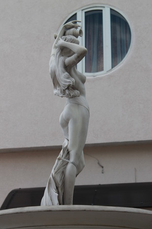 Photo for A statue of a naked girl. Sculpture - Royalty Free Image