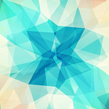 Photo pour Abstract geometric background with triangular polygons  - image libre de droit
