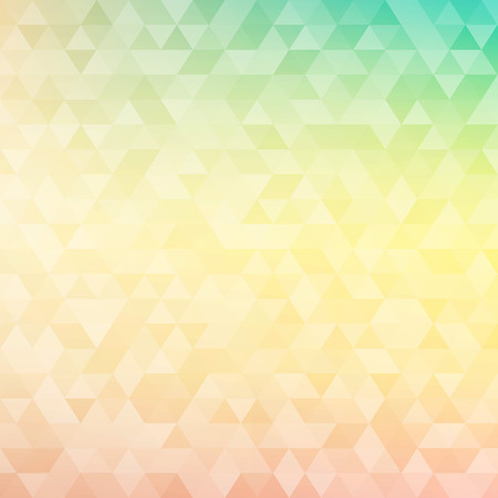 Foto de Colorful abstract geometric background with triangular polygons - low poly. Vector illustration. - Imagen libre de derechos