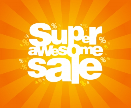 Super awesome sale design template