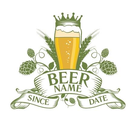 Illustration pour Beer symbol design. - image libre de droit