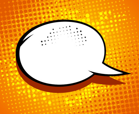 Illustration pour Comic speech bubble in pop-art style. - image libre de droit