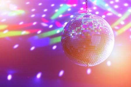 Photo pour disco ball background close up - image libre de droit