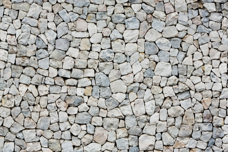 Photo for Close up old and weathered stone wall outside of building - Royalty Free Image