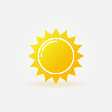 Ilustración de Abstract sun icon  - Imagen libre de derechos