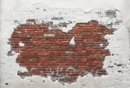 Foto de Grunge Distorted Brick wall - Imagen libre de derechos