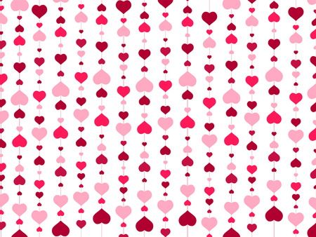 Photo pour St.Valentine day Abstract Heart Background - image libre de droit