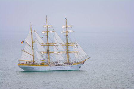 Foto de Three Masted Barque in the Black Sea - Imagen libre de derechos