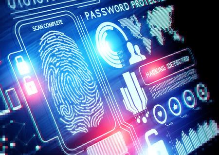 Foto de  Online Security Technology background - Imagen libre de derechos