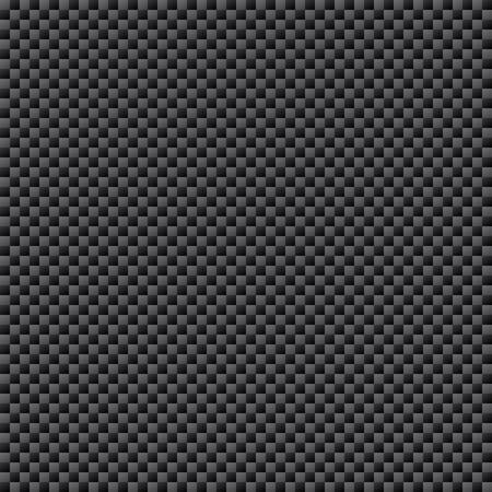 Illustration pour Carbon Fiber Weave Sheet Seamless Pattern, vector illustration - image libre de droit