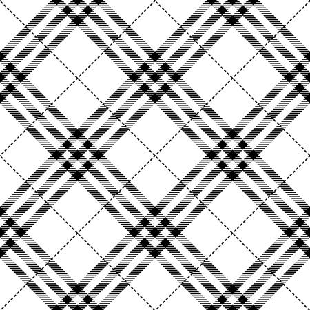 Illustration pour fabric texture seamless diagonal pattern vector illustration - image libre de droit