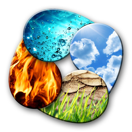 Photo for four elements of Nature  - Royalty Free Image