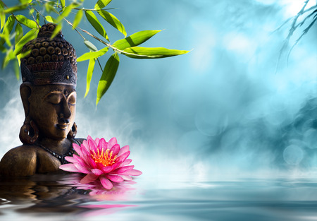 Photo for Buddha in meditation - Royalty Free Image