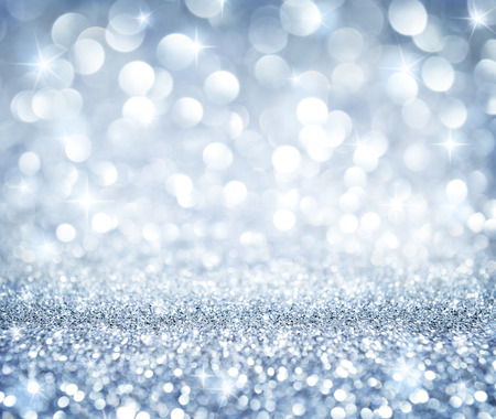 Photo pour christmas background - shining glitter - heaven silver - image libre de droit