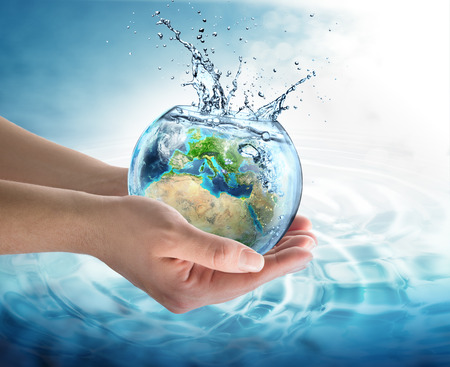 Photo pour water conservation in Europe - image libre de droit