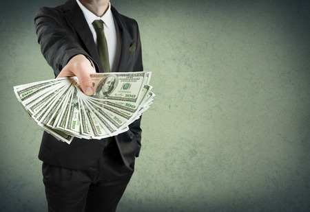Photo for banking loan, or cash concept - Royalty Free Image