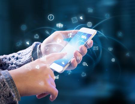 Foto de multitasking in hands - Imagen libre de derechos