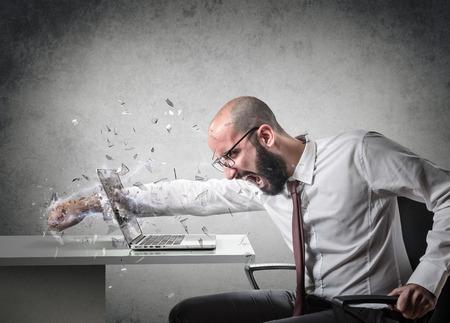 Foto de explosion of anger - Imagen libre de derechos