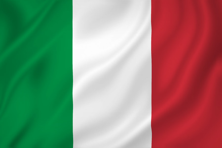 Foto de Italy national flag background texture. - Imagen libre de derechos