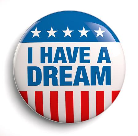 Foto de I have a dream patriotic design symbol. - Imagen libre de derechos