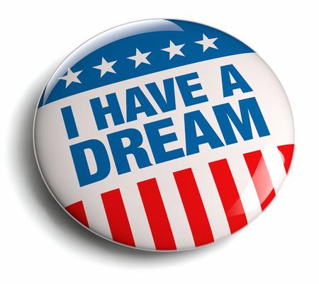 Foto de I have a dream quote badge. - Imagen libre de derechos